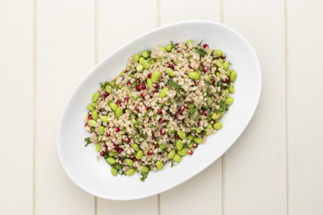 edamame-barley-kale-coriander-platter