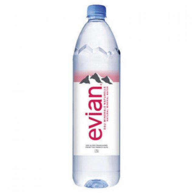 Evian Natural Spring Water 1.25L