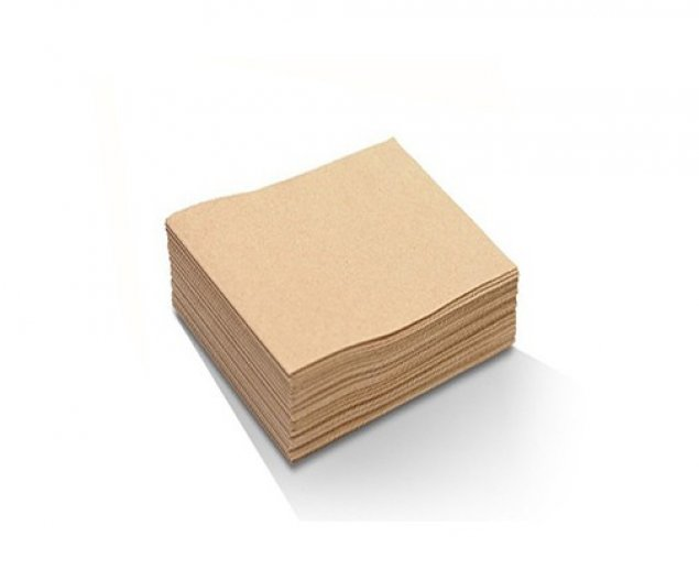 Recycled 2ply Cocktail Napkin - 1/4 Fold 240x240 mm