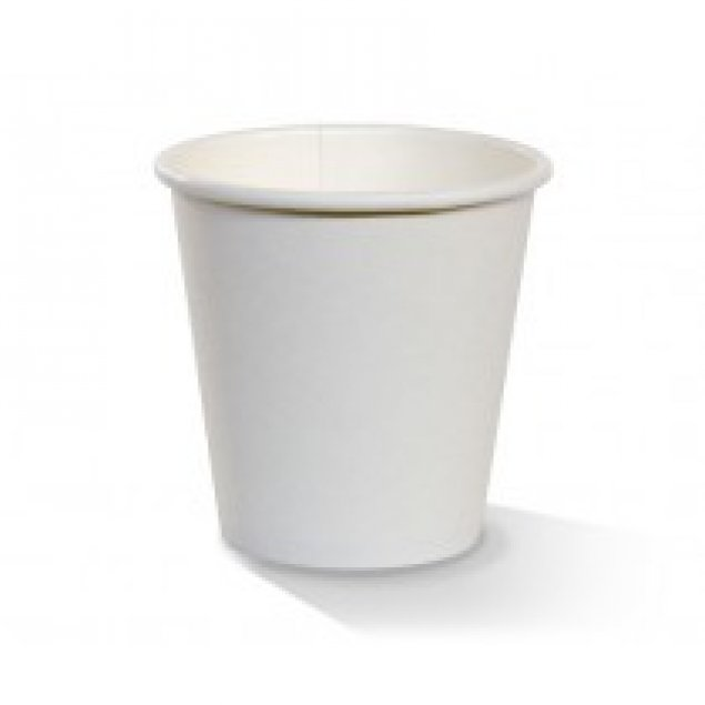 8oz SW Cup/Plain White/Standard