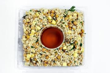 Brown Rice Salad Platter