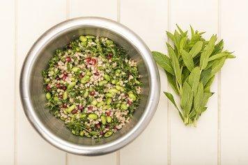 Barley, Edamame & Pomegranate Salad 1.8kg
