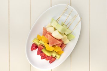 Seasonal Fruit Skewers box