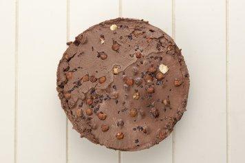 Raw Cocoa and Hazelnut Torte