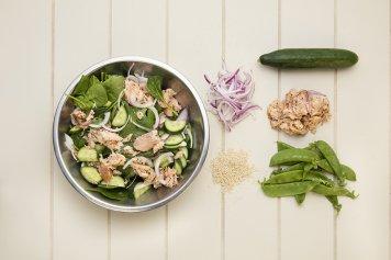 Teriyaki Salmon Salad 1.4kg
