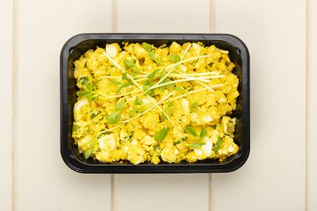 Protein Punch Turmeric Egg