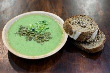 Mint, Pea, Kale & Seaweed Soup 2L