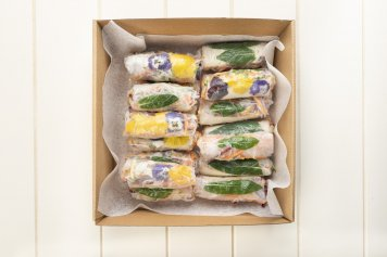 Rice Paper Roll Platter, choose from 4 varieties